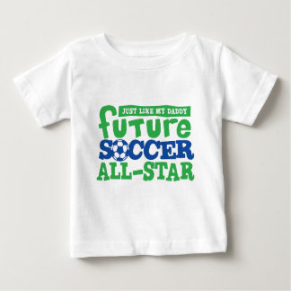Future Soccer All Star-Boy Baby T-Shirt