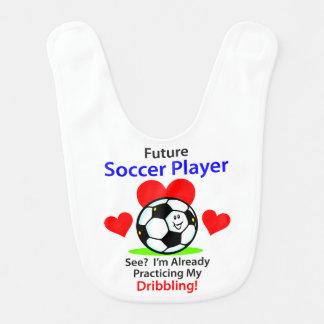 Future Soccer Player Baby Bib