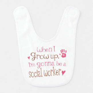 Future social Worker Baby Bib