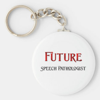 Future Speech Pathologist Keychain