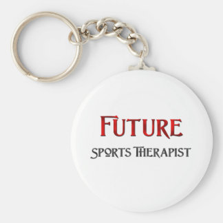 Future Sports Therapist Basic Round Button Keychain