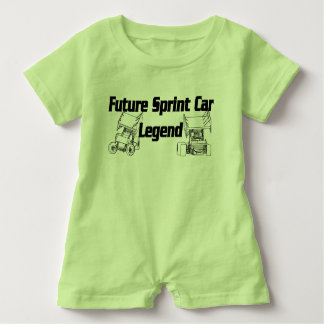 Future Sprint Car Legend Romper