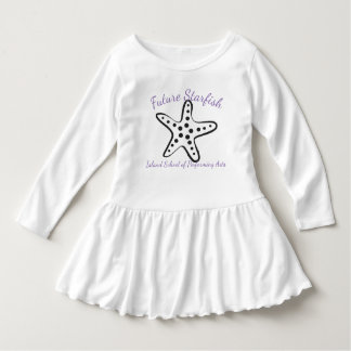 Future Starfish purple writing Dress