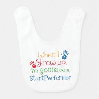 Future Stunt performer Baby Bib