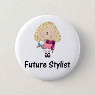 future stylist 2 inch round button