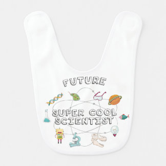 Future Super Cool Scientist Bib