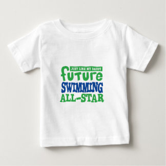 Future Swimming All Star - Boy Baby T-Shirt
