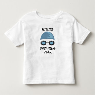 FUTURE SWIMMING STAR TODDLER T-SHIRT