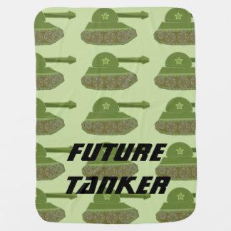 Future Tanker tile Baby Blanket