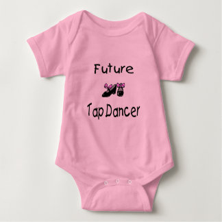Future Tap Dancer Baby Bodysuit