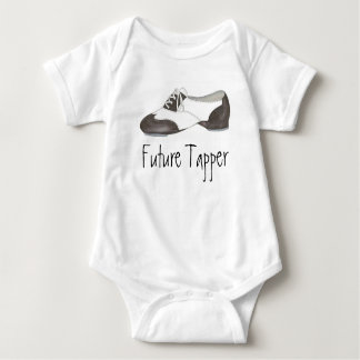 Future Tapper Tap Dance Teacher Shoe Shoes Dancer Baby Bodysuit