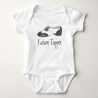 Future Tapper Tap Dance Teacher Shoe Shoes Dancer Baby Bodysuit