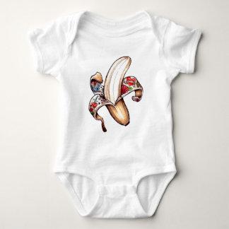 Future Tattooed Man Baby Bodysuit