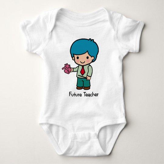 Future Teacher - Boy Baby Bodysuit