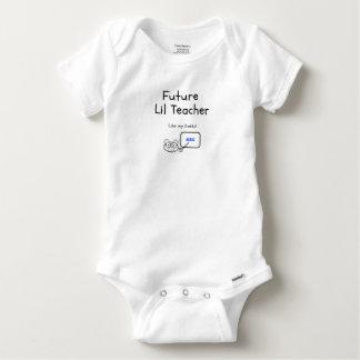 Future Teacher Like Daddy! Baby Onesie