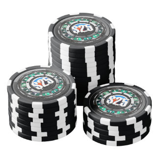 Future Tech Face Poker Chips $25