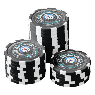 Future Tech Face Poker Chips $5