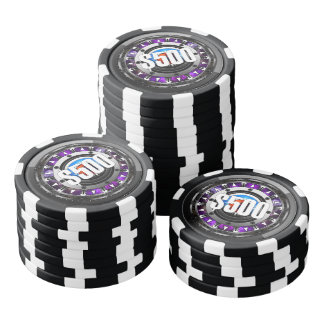 Future Tech Face Poker Chips $500