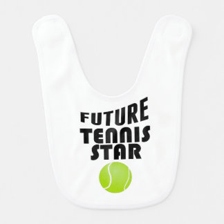 Future Tennis Star Baby Bibs