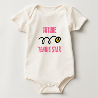Future tennis star baby outfit | cute bodysuit