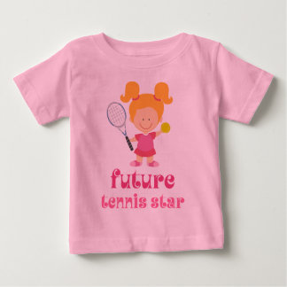 Future Tennis Star (Player) Baby T-Shirt