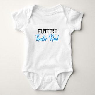 Future Theater Nerd Blue Baby Bodysuit
