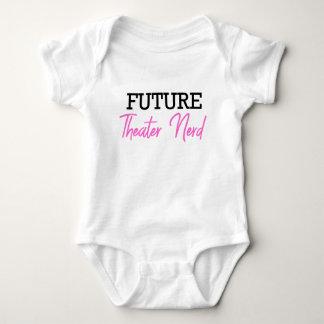 Future Theater Nerd Pink Baby Bodysuit