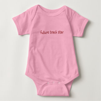 future track star baby bodysuit