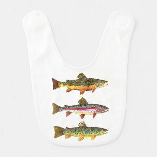 Future Trout Fisherman Bib