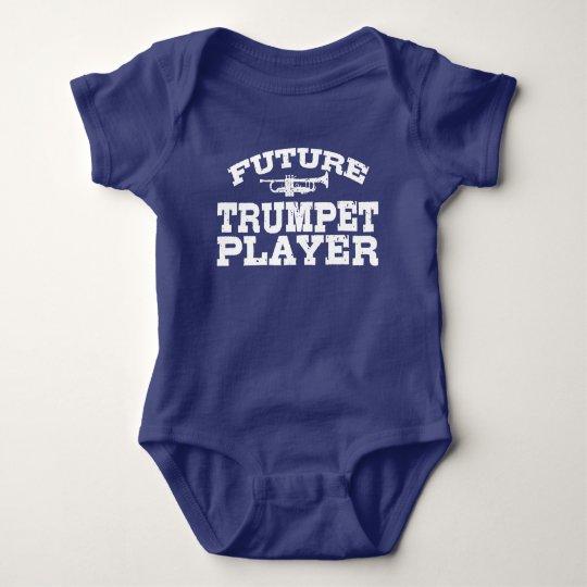 Future Trumpet Player Baby Bodysuit