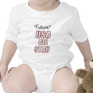 Future USA All-Star Baby Bodysuits