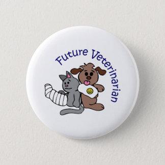 FUTURE VETERINARIAN 2 INCH ROUND BUTTON