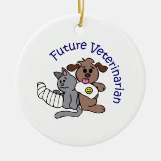 FUTURE VETERINARIAN CERAMIC ORNAMENT