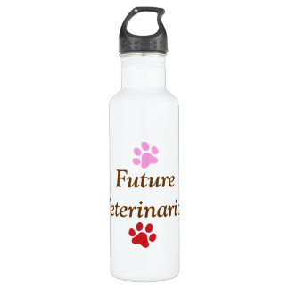 Future Veterinarian-Colorful Paw Prints