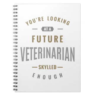 Future Veterinarian Gift ideas Notebook