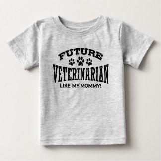 Future Veterinarian Like My Mommy Baby T-Shirt
