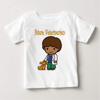 Future Veterinarian When I Grow Up Baby T-Shirt