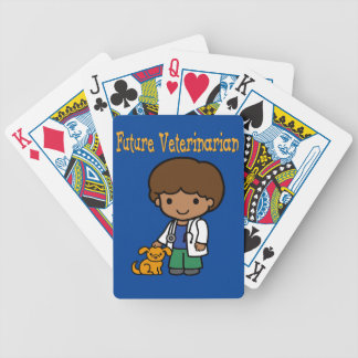 Future Veterinarian When I Grow Up Bicycle Playing Cards