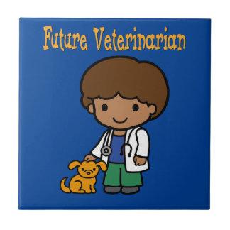 Future Veterinarian When I Grow Up Tile