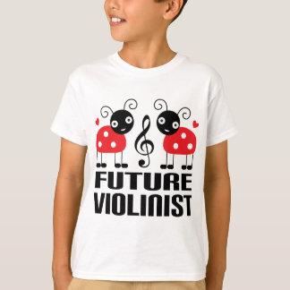 Future Violinist music Kids T-shirt
