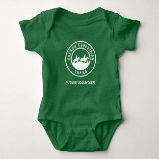 FUTURE VOLUNTEER one-piece Baby Bodysuit