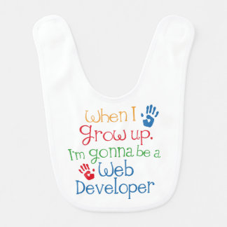 Future Web Developer Baby Bib