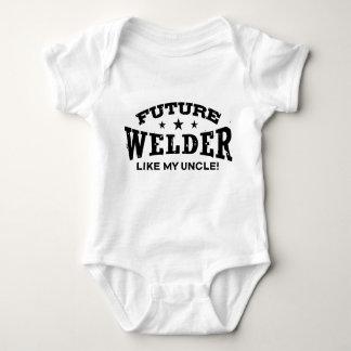 Future Welder Like My Uncle Baby Bodysuit