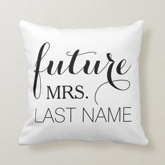 Future Wife Pillow