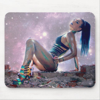 Future Woman Mouse Pad