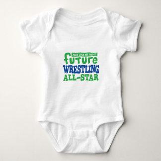 Future Wrestling All Star Baby Bodysuit