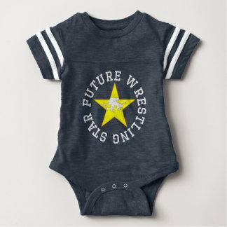 Future Wrestling Star Baby Bodysuit