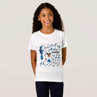 Future Zeta in Training Zeta Phi Beta girl's shirt