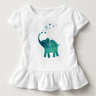 Future Zookeeper Elephant Toddler Girls Shirt