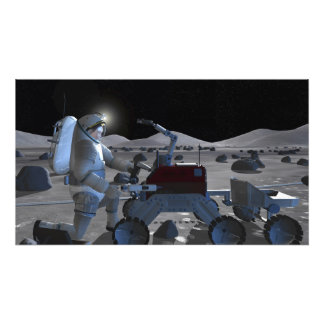 Futures missions 10 d'exploration d'espace tirages photo